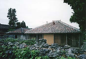 石垣島にある古い様式の民家