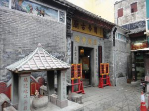 関帝廟の正面
