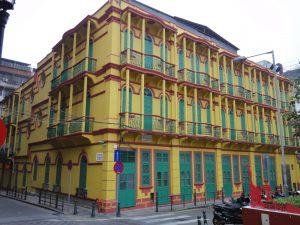 ラザロ地区の建物その1。