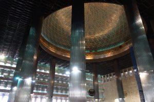 礼拝堂の天井部分